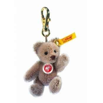 Peluche steiff porte-clés ours teddy mini, café au lait -039096