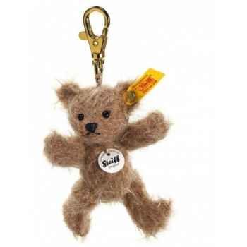 Peluche steiff porte-clés ours teddy mini, café au lait -039492