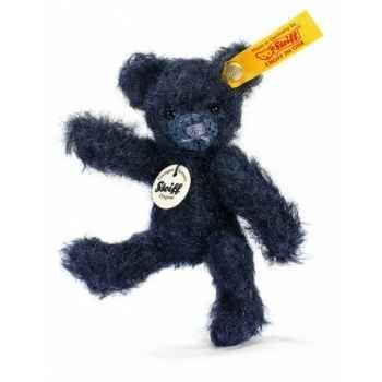 Peluche steiff ours teddy mini, noir -039621