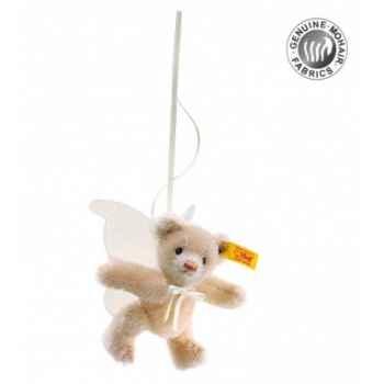 Peluche steiff ours teddy miniature angelot, beige -039874