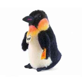 Peluche steiff pingouin hippie, noir/blanc -045677