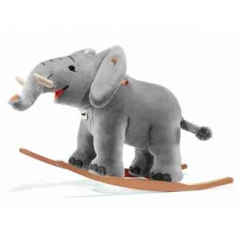 Peluche steiff Éléphant à bascule trampili, gris -048944