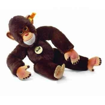 Peluche steiff chimpanzé jocko, brun -060311