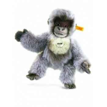 Peluche steiff gorille gori, gris argenté -062063