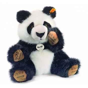 Peluche steiff panda manschli, noir/blanc -064296