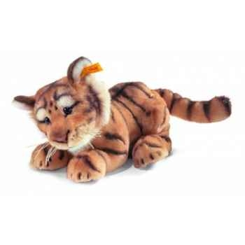 Peluche steiff bébé tigre radjah, rouge blond rayé -064326