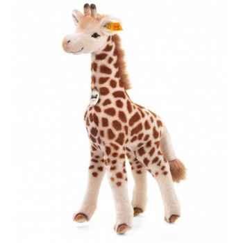Peluche steiff girafe bendy, crème/brune -064340
