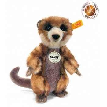 Peluche steiff suricate rico, brun -064425