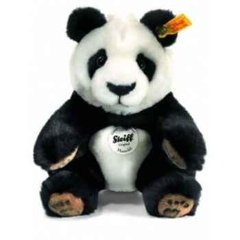 Peluche steiff panda manschli, noir/blanc -064784