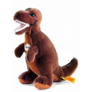 Peluche steiff tyrannosaurus rex, brun foncé -066818