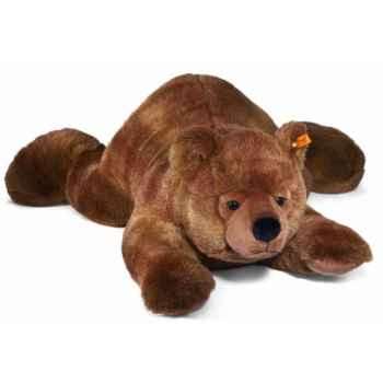 Peluche steiff ours brun urs, brun chiné -069635
