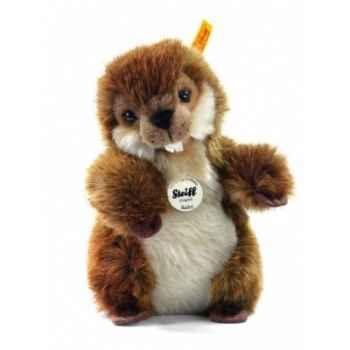 Peluche steiff castor bobby, brun -071652