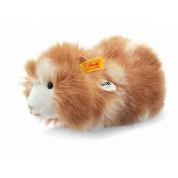 Peluche steiff cochon d'inde dalle, brun moucheté -071829