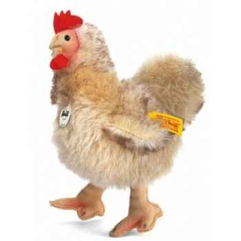 Peluche steiff poule siglinde, beige -075636