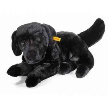 Peluche steiff labrador paddy, noir -078897