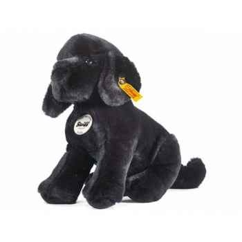 Peluche steiff labrador chiot paddy, noir -078958