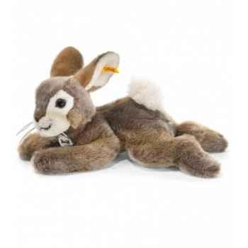 Peluche steiff lapin dormili, brun -080050