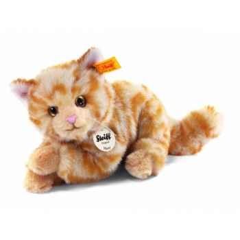 Peluche steiff chat mizzy, rouge moucheté -099403