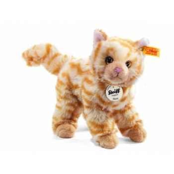 Peluche steiff chat mizzy, rouge moucheté -099427