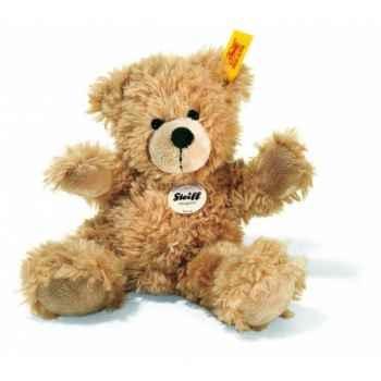 Peluche steiff ours teddy fynn, beige -111327