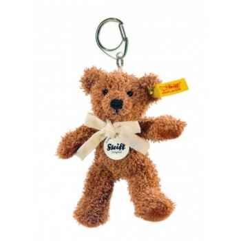 Peluche steiff porte-clés ours teddy james, brun -111570
