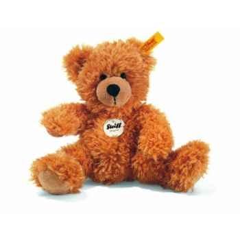 Peluche steiff ours teddy fynn, rouge brun -111709