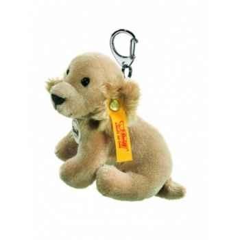 Peluche steiff porte-clés golden retriever, blond -112096