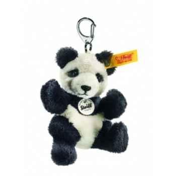 Peluche steiff port-clés panda, noir/blanc -112102