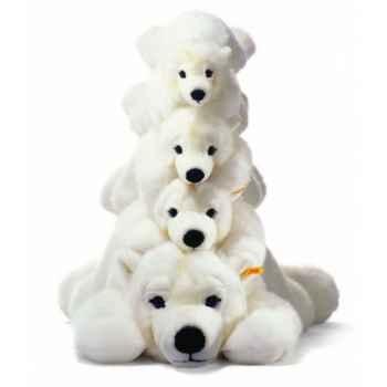 Peluche steiff ours polaire arco, blanc -115127