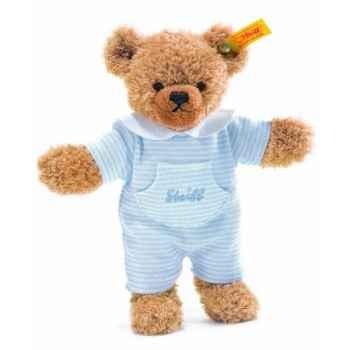Peluche steiff ours dors bien, bleu -237003