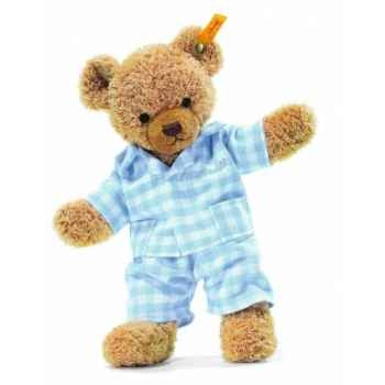 Peluche steiff ours dors bien, bleu -237010