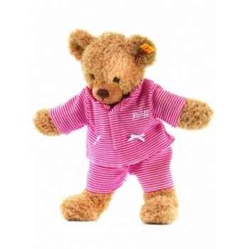 Peluche steiff ours dors bien, rouge -237089