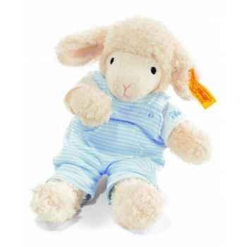 Peluche steiff agneau fais de beaux rêves, bleu -237300