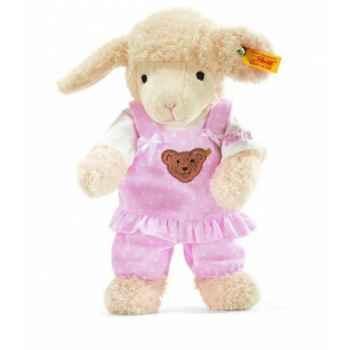 Peluche steiff agneau fais de beaux rêves, rose -237416