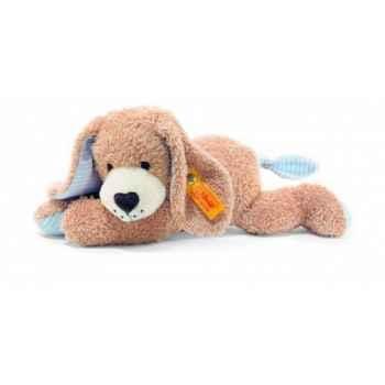 Peluche steiff chien bonne nuit, bleu -238048