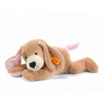 Peluche steiff chien bonne nuit, rose -238055