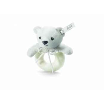 Peluche steiff selection ours teddy anneau de préhension, sable -239113