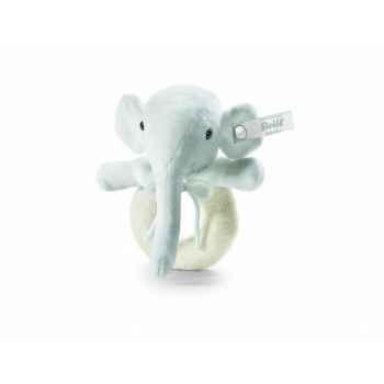 Peluche steiff selection éléphant anneau de préhension, sable -239182