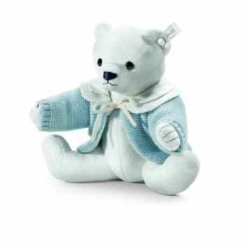 Peluche steiff selection ours teddy, bleu -239328