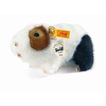 Peluche steiff cochon d\'inde finn, blanc/brun/noir -270130