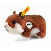 peluche steiff hamster goldi roux 270147