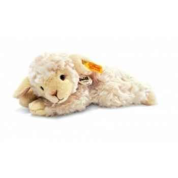 Peluche steiff le petit ami de steiff agneau linda, blanc laineux -280030