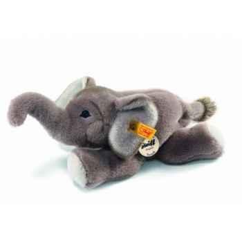 Peluche steiff le petit ami de steiff éléphant trampili, gris -280054