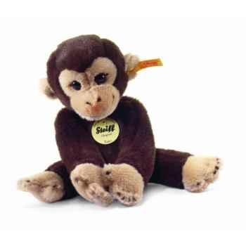 Peluche steiff le petit ami de steiff singe koko, brun foncé -280122
