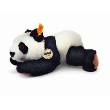 Peluche steiff le petit ami de steiff panda manschli, noir/blanc -280139