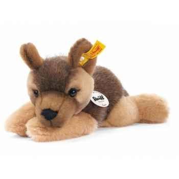 Peluche steiff le petit ami de steiff chien berger chiot lars, brun -280283