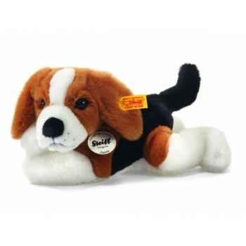 Peluche steiff le petit ami de steiff beagle chiot james, brun/noir/blanc -280290