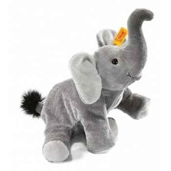 Peluche steiff petit floppy de steiff éléphant trampili, gris -281020