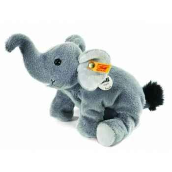 Peluche steiff floppy miniature de steiff éléphant trampili, gris -281365