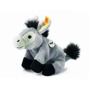 Peluche steiff floppy miniature de steiff âne issy, gris -281440